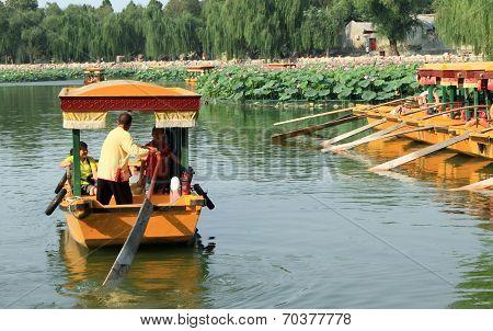 Beihai Lake in Beijing