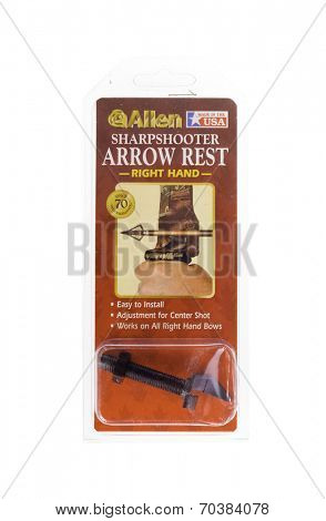 West Point - August 17, 2014: Right Hand SharpShooter Arrow rest by Allen in packing