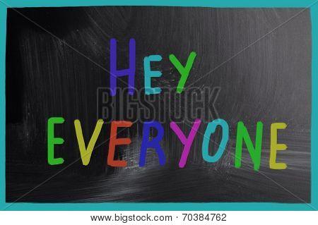 Hey Everyone!