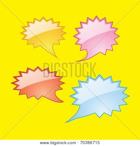 Dialog Speech Bubbles Icons
