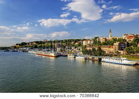 Belgrade From River Sava