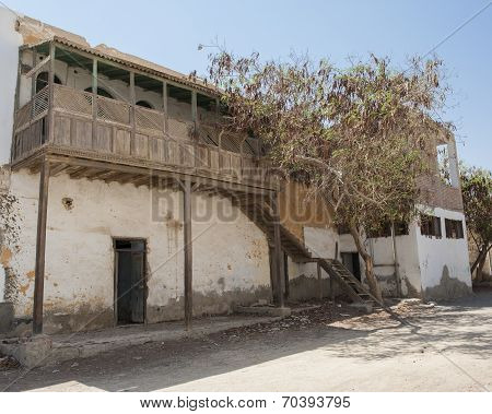 Old Abandoned Building In Egyptian Town