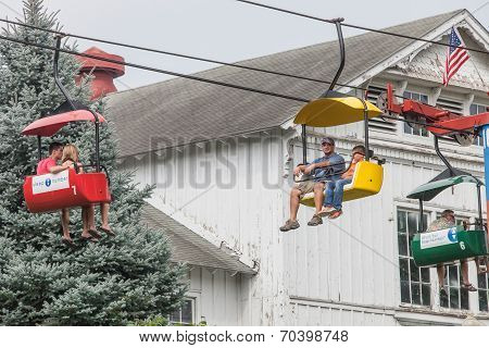 Sky Ride At Iowa State Fair