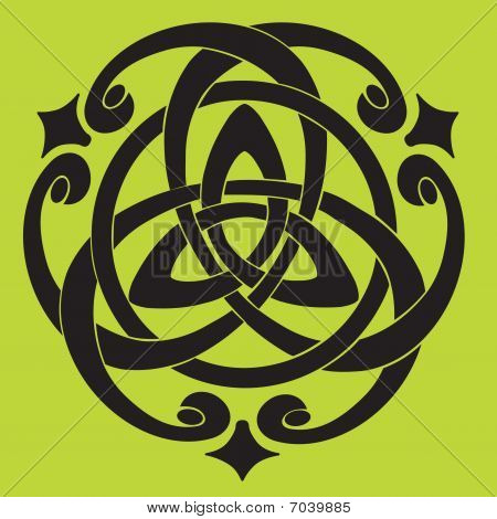 Celtic Knot Motif