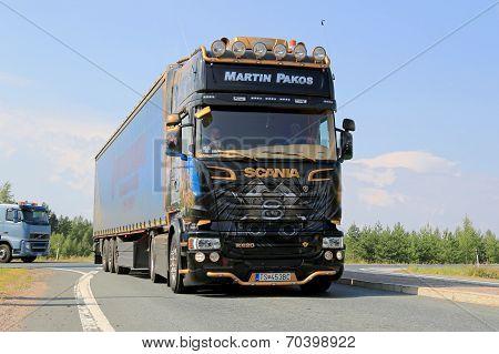 Scania R620 V8 Semi Truck Of Martin Pakos