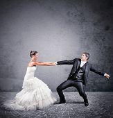Постер, плакат: Escape From Marriage
