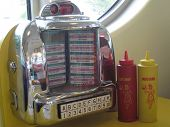 picture of jukebox  - jukebox - JPG