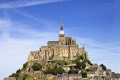 stock photo of mont saint michel  - mont saint michel view - JPG