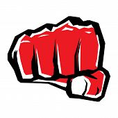 image of fist  - freedom or revolution concept symbol - JPG