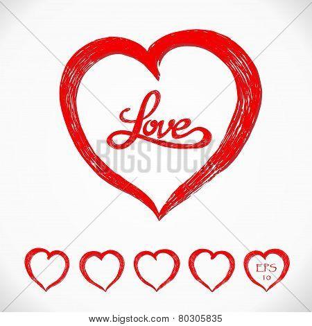 Love Heart Set