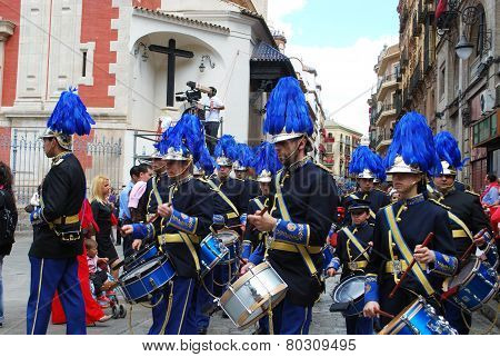 Marching Band, Seville.