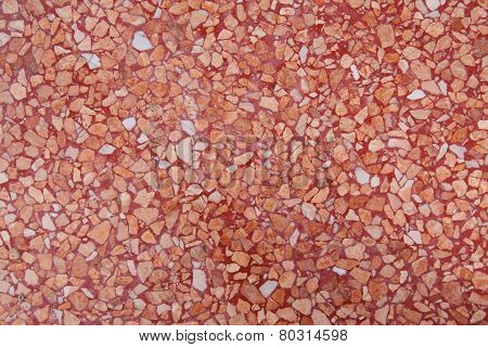 Red Grit Background