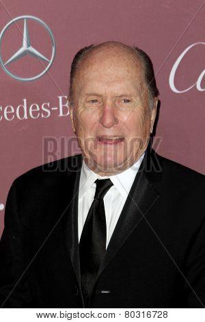 PALM SPRINGS, CA - JAN 3: Robert Duvall arrives at the 2015 Palm Springs International Film Festival Awards Gala at the Palm Springs Convention Center on January 3, 2015 in Palm Springs, CA.