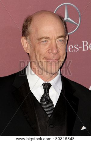 PALM SPRINGS, CA - JAN 3: J.K. Simmons arrives at the 2015 Palm Springs International Film Festival Awards Gala at the Palm Springs Convention Center on January 3, 2015 in Palm Springs, CA.