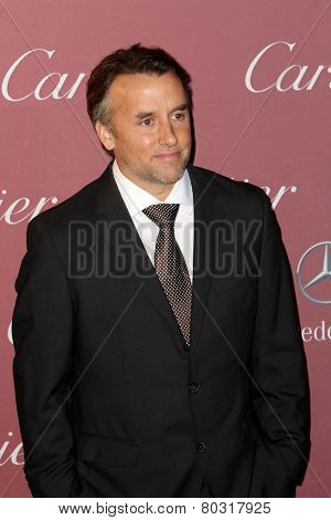 PALM SPRINGS, CA - JAN 3: Richard Linklater arrives at the 2015 Palm Springs International Film Festival Awards Gala at the Palm Springs Convention Center on January 3, 2015 in Palm Springs, CA.