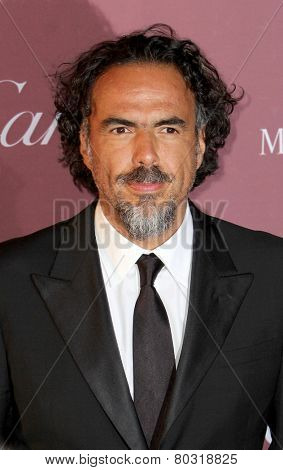 PALM SPRINGS, CA - JAN 3: Alejandro Gonzalez Inarritu arrives at the 2015 Palm Springs Film Festival Awards Gala at the Palm Springs Convention Center on January 3, 2015 in Palm Springs, CA.