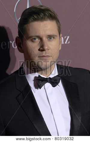 PALM SPRINGS, CA - JAN 3: Allen Leech arrives at the 2015 Palm Springs International Film Festival Awards Gala at the Palm Springs Convention Center on January 3, 2015 in Palm Springs, CA.