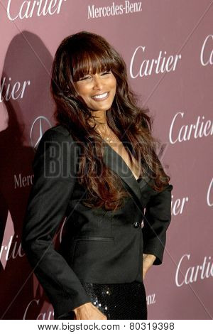 PALM SPRINGS, CA - JAN 3: Beverly Johnson arrives at the 2015 Palm Springs International Film Festival Awards Gala at the Palm Springs Convention Center on January 3, 2015 in Palm Springs, CA.