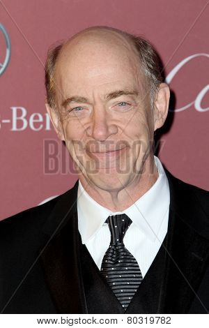 PALM SPRINGS, CA - JAN 3: J.K. Simmons arrives at the 2015 Palm Springs Film Festival Awards Gala at the Palm Springs Convention Center on January 3, 2015 in Palm Springs, CA.