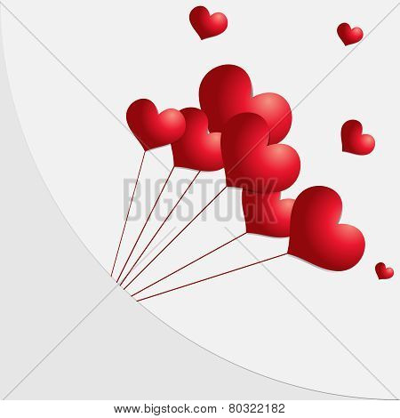 Valentines Day Heart Balloons