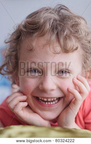 Laughing Smiling Boy