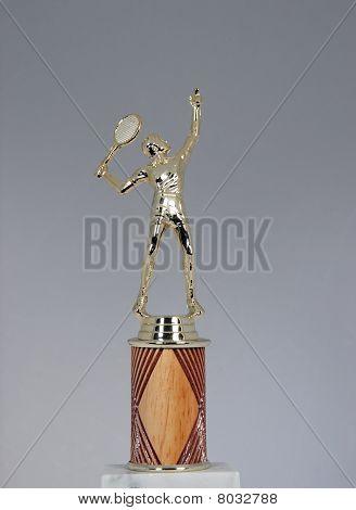 tennis trophy