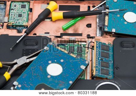 Professional laptop repair
