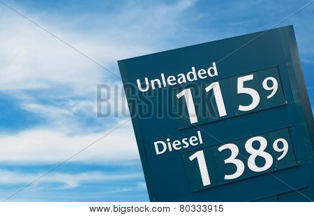 Petrol Signs