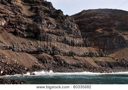 Eroding Oceanfront Cliffs
