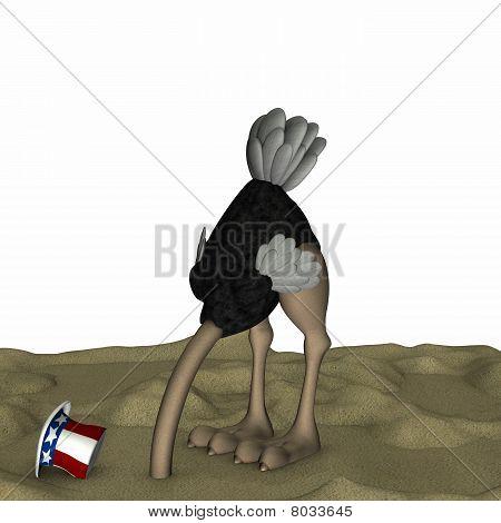 Political Ostrich