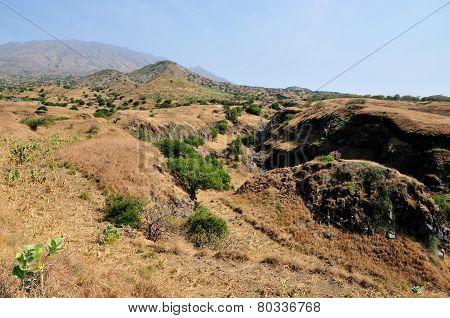 Mountainous Region Of Fogo