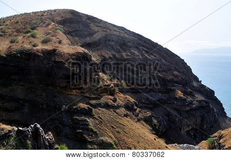 Eroded Mountain