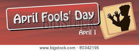 Banner For The World Day Of The Fool