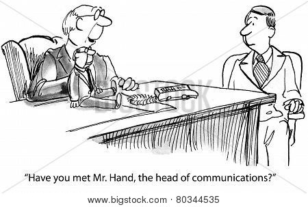 Poor Business Communicator