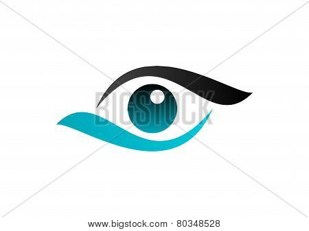 eye logo,vision care,circle optic symbol,sphere,vortex,globe icon vector illustration
