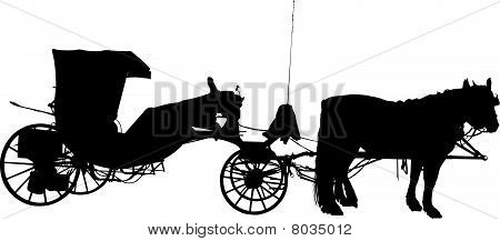 Old horse coach