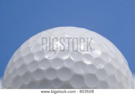 Close-up bola de golfe
