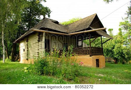 Romanian traditional house.