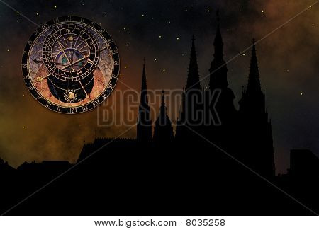 Prague Casle - Cathedral Of St Vitus