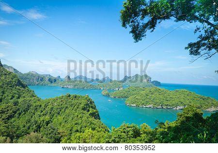 View Point, Wua Talab Island, Ang Thong National Marine Park, Koh Samui, Thailand