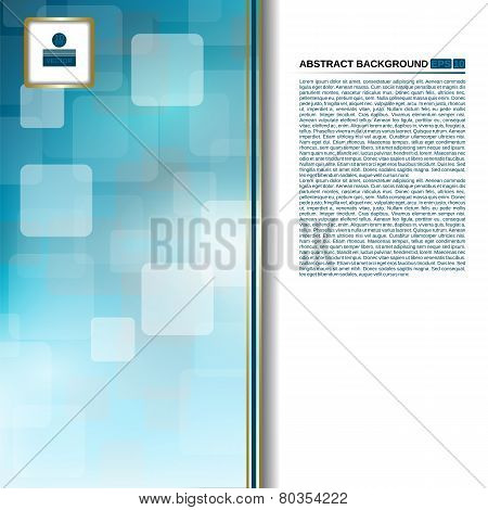 abstract blue background for business