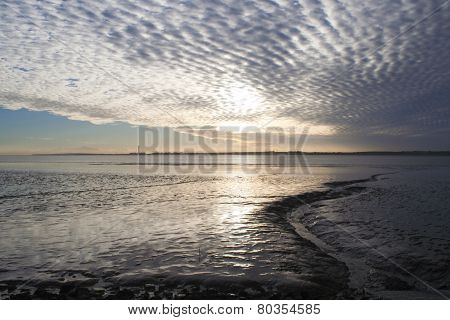 View From Thorney Bay, Canvey Island, Essex, England