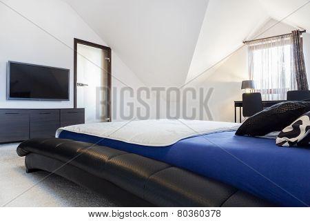 Interior Of Designed Bedroom