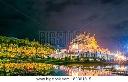 Ho Kham Luang Northern Thai Style Building