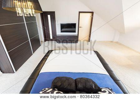 Interior Of Spacious Bedroom