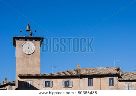 Tower Of Maurizio, Orvieto Italy