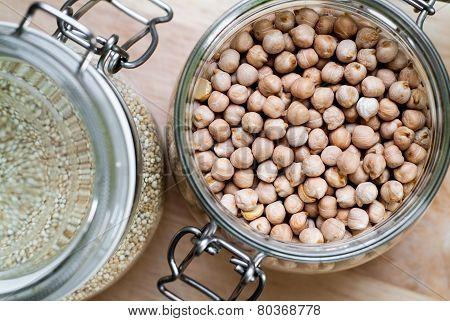 Chickpeas And Quinoa