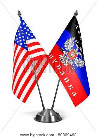 USA and DNR - Miniature Flags.