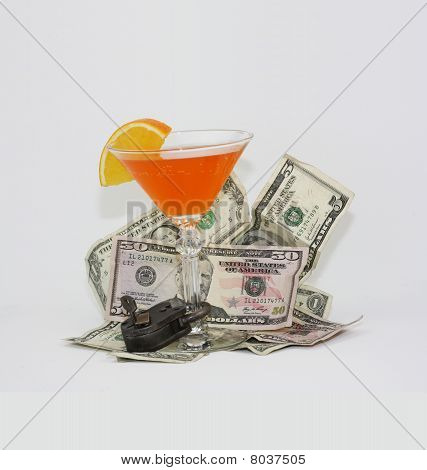 Fruit cocktail money padlock
