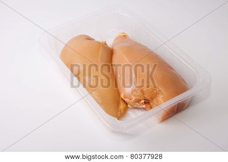 Chicken Breasts On Tray
